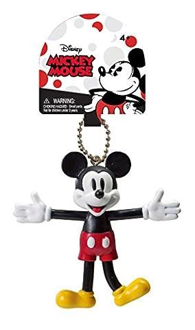 Disney Mickey Mouse Bendable Keychain Mickey Retro