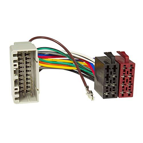 tomzz Audio 7007-001 Radio Adapter Kabel passend für Chrysler ab 2001, Jeep ab 2001, Dodge ab 2001 auf 16pol ISO Norm