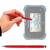DURAGADGET Stylet Tactile Rouge 2 en 1 pour Vtech Storio Max XL 2.0 Tablette Enfant...