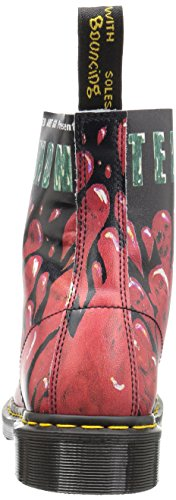 Dr. Martens Pascal 8 trous Spectra brevet Cherry Red Patent Leather red
