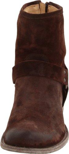 Frye Philip Harness, Stivali uomo Marrone (Marron (Dark Brown))