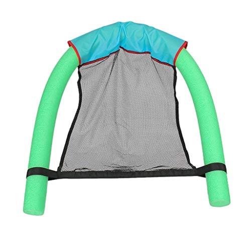 JINBRAND Nudelstuhl Erwachsene Kind Schwimmender Stuhl Schwimmausrüstung Spielzeuge Schwimmendes Bett Liegestuhl Poolhocker (Size : 7.5 * 150cm-green)