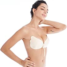 BodyCode sujetador adhesivo de silicona,Invisible Sujetador Push UP Bra sin tirantes, invisible,