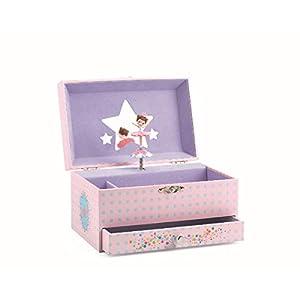 Djeco- Caja Música Bailarina, Color Rose (DJ06597)