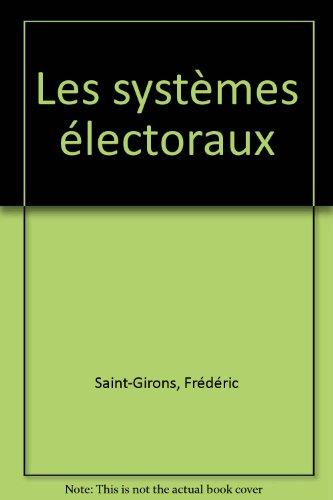 Les systèmes électoraux