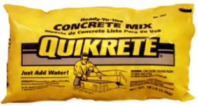 QUIKRETE COMPANIES - 10-Lb. Concrete Mix