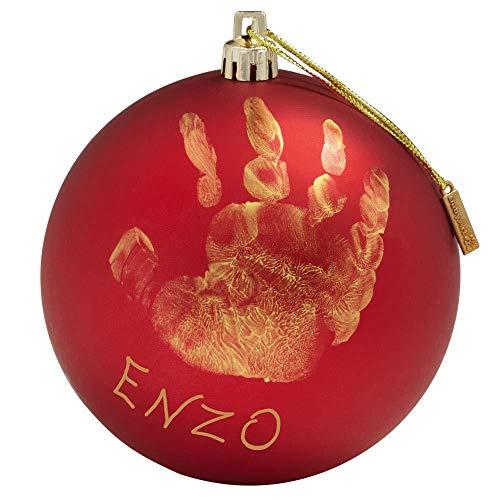 Baby Art My Christmas Fairy Pallina di Natale in Plastica, Decorazione Natalizia Albero Natale, con...