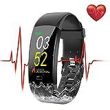 SEZAC [Waterproof IP68 Fitness Tracker Watch, Activity Tracker Watch Monitor della frequenza cardiaca Smartwatch Step Counter, Sleep Monitor per Le Donne Mens Bambini