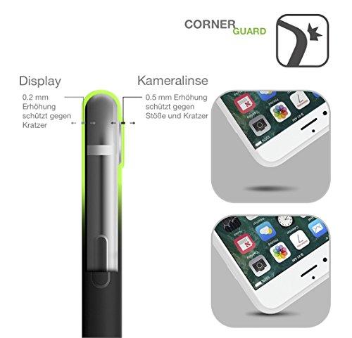 iPhone 7 Plus / iPhone 8 Plus Hülle AVANA® ultra dünne Schutzhülle flexibles & federleichtes Case Etui schwarze Apple Handyhülle Tasche Silikon Cover extra Kameraschutz (YOUR LOSS, BABE. black) HANGRY AF white