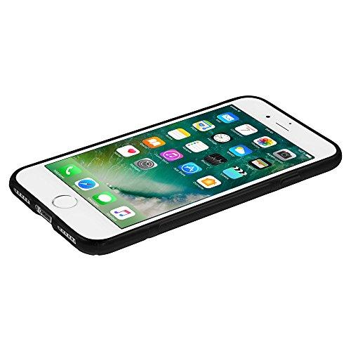 "VComp-Shop® S-Line TPU Silikon Handy Schutzhülle für Apple iPhone 7 Plus 5.5"" + Mini Eingabestift - SCHWARZ SCHWARZ + Mini Eingabestift"