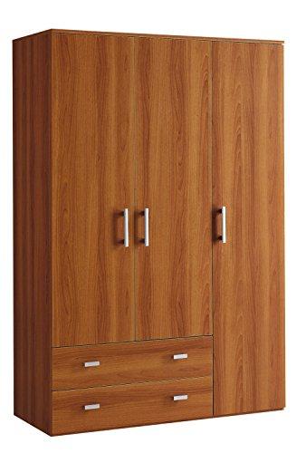 Klipick armadio 3 ante + 2 cassetti altezza 207.oriana