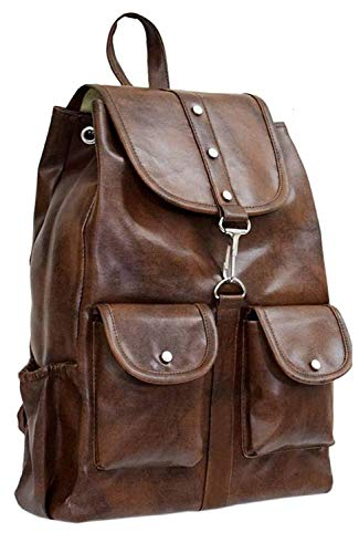 Backpack for women Stylish | women backpack latest | school bag for girls under | College Bag for women (Brown) (brown) Image 2