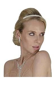SEXYHER Klassische Hochzeits-Tiara mit Swarovski-Kristallen