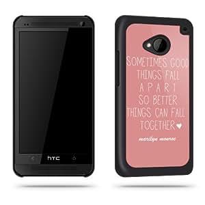 """Marilyn Monroe-Zitat """"Sometimes."""", für HTC One"""