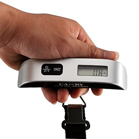 Camry Digital Portable Travel Hanging Luggage Scale 50kg / 110lb
