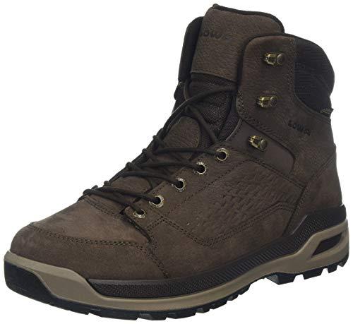 Lowa Herren Locarno Ice GTX MID Trekking- & Wanderstiefel, Braun (Marronescuro 0493), 43.5 EU