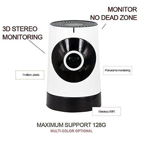 OutfitAlbum - überwachungskamera Innen Wlan Wifi Kamera 720P,1 Million Pixel,Alarmaktion,Bewegungserkennung