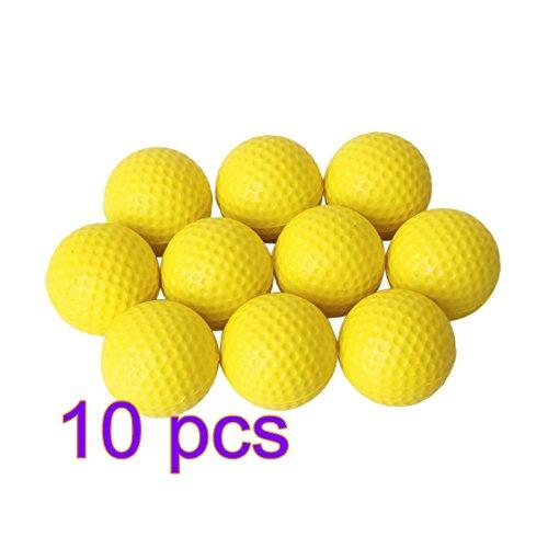 5cinq 10pcs souple en mousse PU Balle de golf pour formation