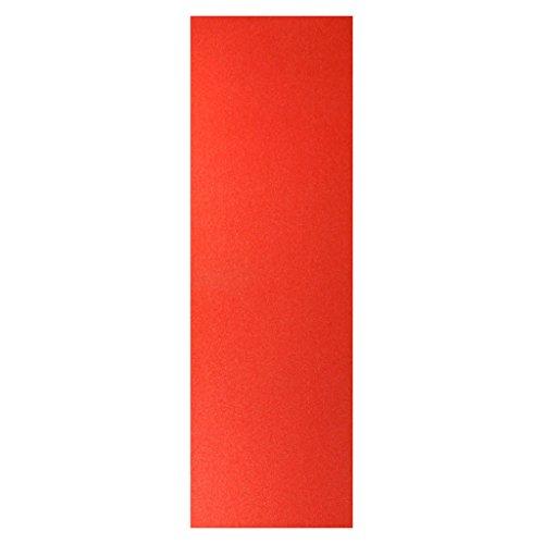 Generic Professionelle Longboard & Skateboard Griptape - Farbe Auswählbar - Rot