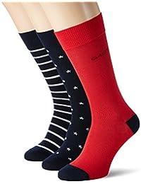 Gant O 3-Pack Stars & Stripes Socks, Chaussettes Homme