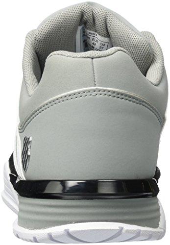 K-Swiss BAXTER, Sneakers basses homme Noir (Black/Neutral Gray/White)