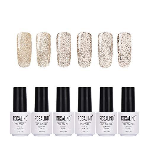 ROSALIND gel esmalte uñas colores UV barniz semi
