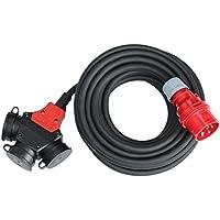 CEE Adapter Stromverteiler 5m 5x2,5mm² H07RN-F 16A 400V - 3x230V Verteiler