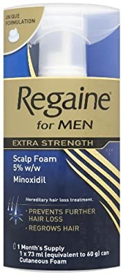 Regaine for Men Extra Strength Scalp Foam 73ml