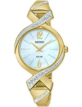 Seiko Damen Solar-Armbanduhr SUP266