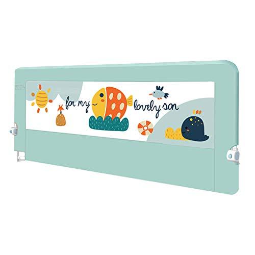 Extension de Hauteur de Rail de lit Berceau Extra-Long barrière de Garde de lit de bébé d'enfants lit Double 75cm de Hauteur (Taille : Length 2.0m)