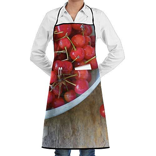 n-Schürzen Lätzchen für Mens Womens Halloween-Spitze justierbare Erwachsene Küchen-Kellner-Schürzen mit Taschen ()