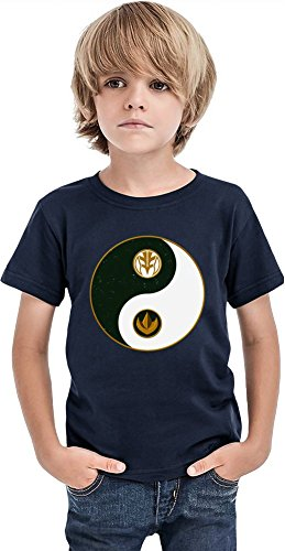 Tommy's Yin Yang Logo Boys T-shirt 12+ yrs