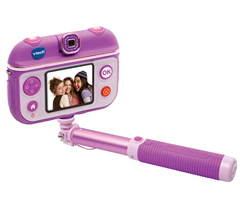 VTech-80-193722 Camara Digital Color Rosa, Morado (3480-193722)