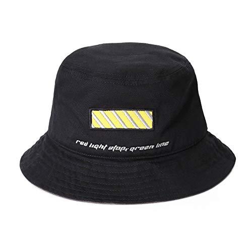 Saisma Fischer Hut Original Minimalistisches Design Flut Marke Koreanische Version des Sonnenhutes Hip Hop Wild Street Basin Cap Männer Und Frauen Paare Hipster Hut Stickerei Linie Serie - Linien Hipster