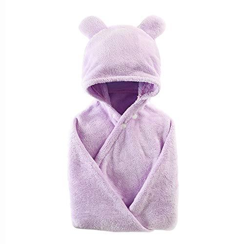 5643ff22ac0c3 serviette de bain bébé Cape à Capuche Enfant garçon Fille Peignoir de Bain  100% Coton