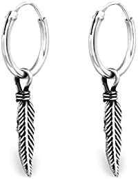 Starfish Hook Dangle Earrings - 925 Sterling Silver - Part Size: 12mm x 12mm - The Rose & Silver Company - RS0693