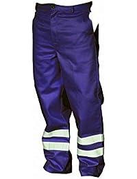 Yoko Mens Hi Vis Reflective Working Trousers (Regular)