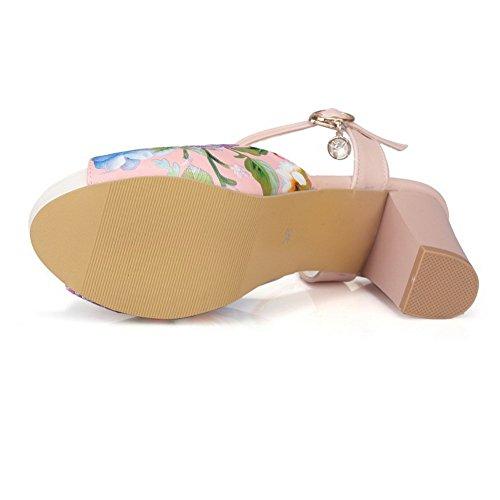 BalaMasa, Scarpe col tacco donna Pink