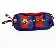 Safta FC Barcelona Estuches, 21 cm, Multicolor