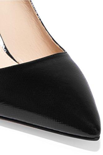EDEFS - Scarpe col tacco Donna - Classiche Scarpe col Tacco - Stilleto - Chiuse Davanti Nero