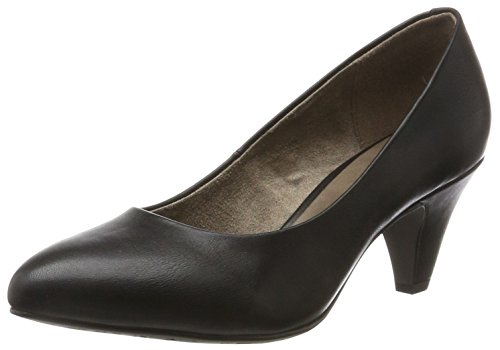 Tamaris Damen 22416 Pumps, Schwarz (Black Matt), 38 EU