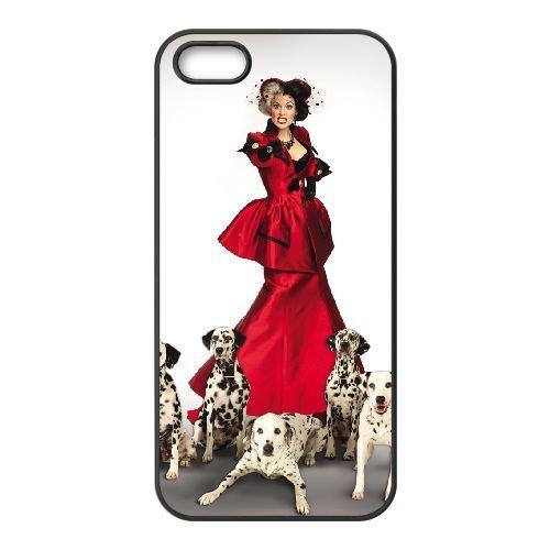 iphone5 5s Black phone case Disney Cartoon Comic Series 101 Dalmatians QBC3076894