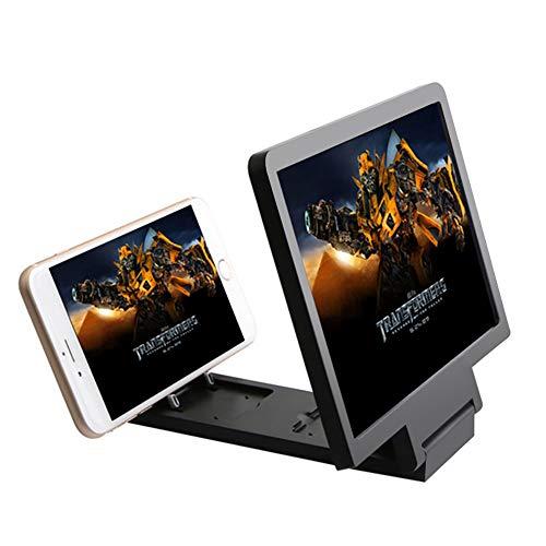 L&Z Handy-Lupe:3-facher Vergrößerungs-Lupe für Smartphone & iPhone (Klappbare Smartphone Lupe)