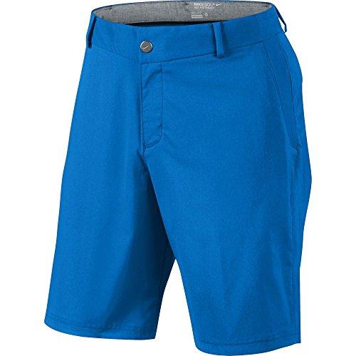 Nike Modern Herren Hose Tech Woven Short 34 Hellblau / Grau (Männer Nike Mesh Shorts)
