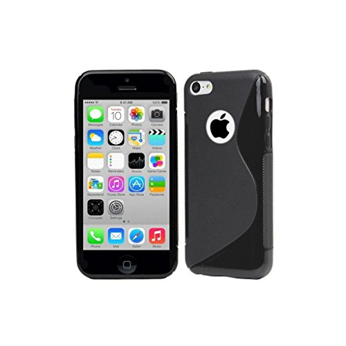 Style Icon Apple Iphone 4 4G 4S Black Silicone Gel S Line Grip Case Cover For Apple Iphone 4 4G 4S By G4GADGET® - 4s Gel