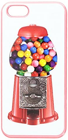 Graphics and More Gumball Machine Snap-On Hard Protective Case for iPhone 5/5s - Non-Retail Packaging - Pink