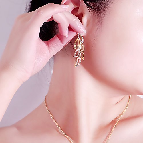 YouBella Multi-Colour Gold-Plated Dangle & Drop Earring For Women