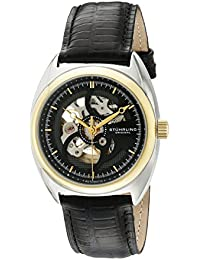 Stuhrling Original Analog Black Dial Men's Watch - 381.33G51