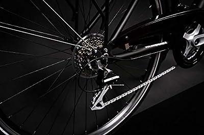 "28"" Zoll Alu MIFA Damen Trekking Fahrrad Shimano 24 Gang Nabendynamo Continental schwarz Rh 45cm"