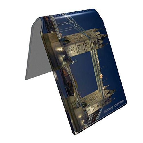 Stray Decor (Tower Bridge) Étui à Cartes / Porte-Cartes pour Titres de Transport, Passe d'autobus, Cartes de Crédit, Navigo Pass, Passe Navigo et Moneo